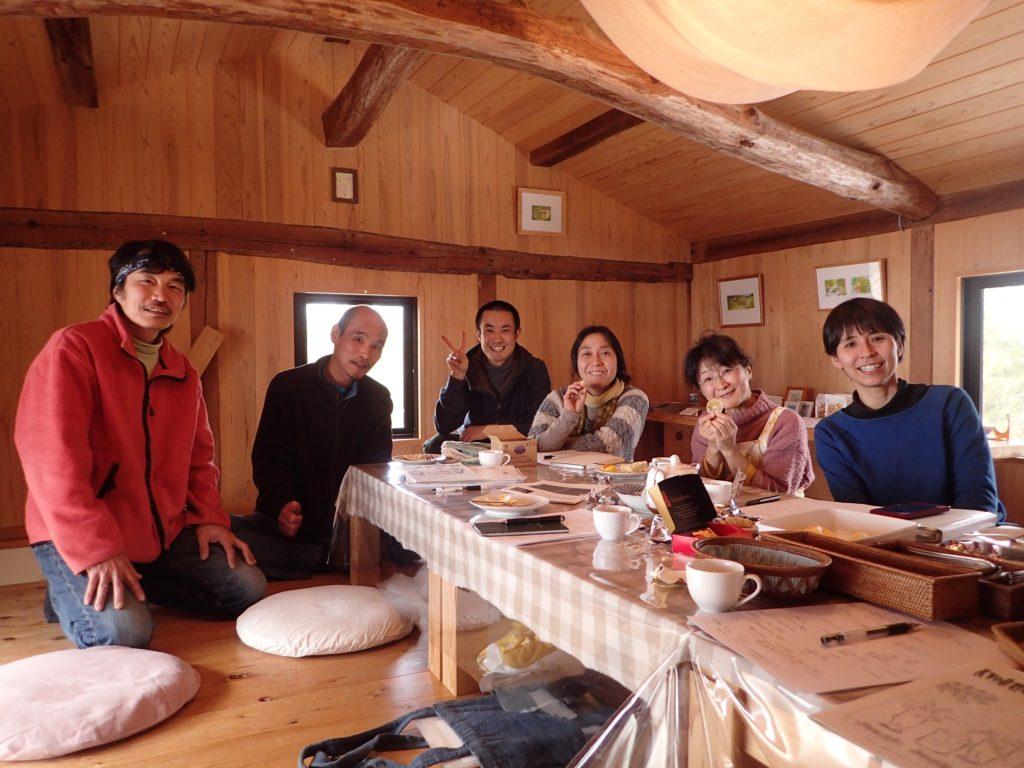 長野県有機農業研究会の編集会議!