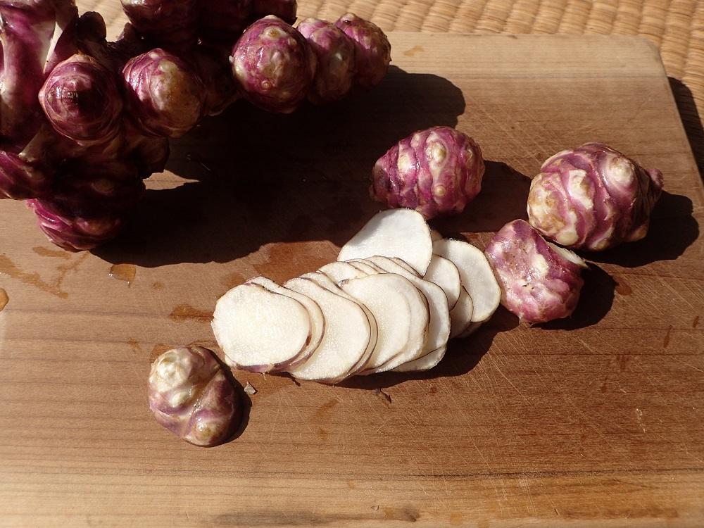 今季トピナンブール(赤キクイモ)、今週いっぱいで終了です!