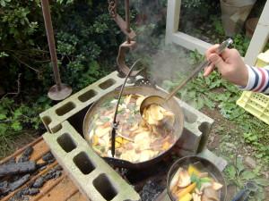 郷土料理 おぶっこ
